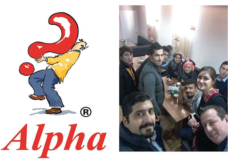 Alpha-Kurs für Flüchtlinge