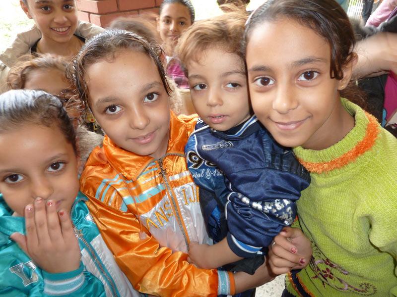 Strassenkinder in Kairo
