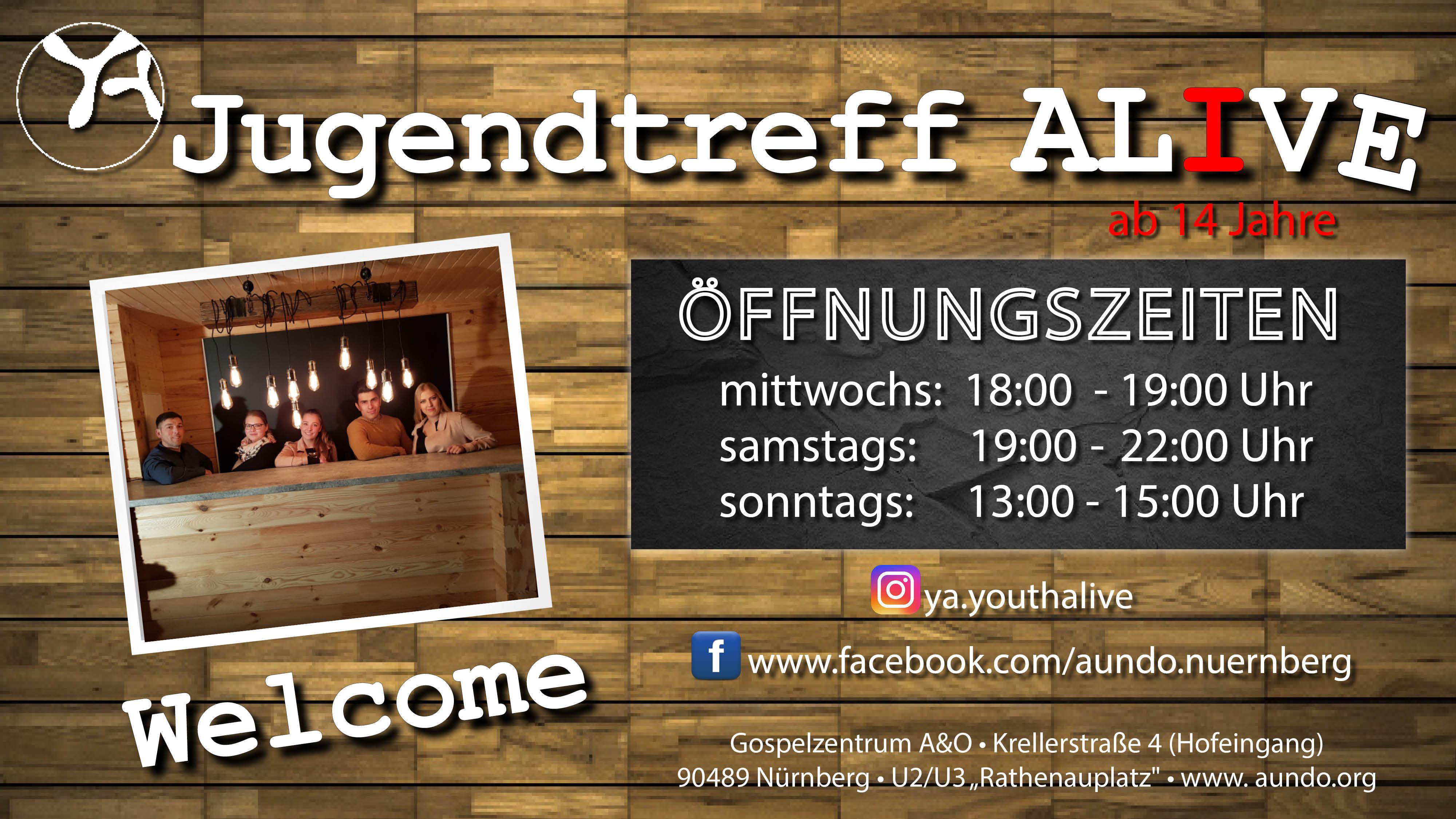 """Jugendtreff """"Youth Alive"""""""