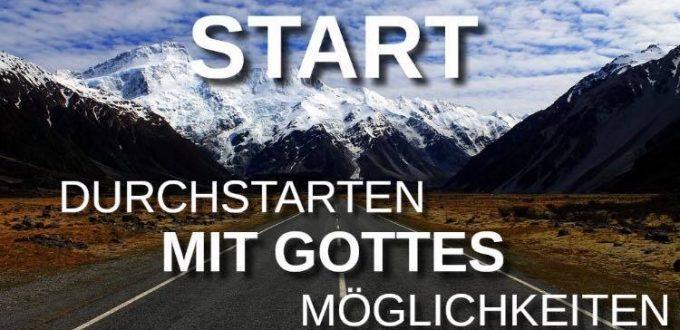 START – Durchstarten mit Gottes Möglichkeiten